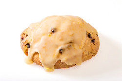 Orange Glazed Cream Current Scone