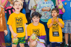 Allergy Awareness-No Nuts allowed t-shirt